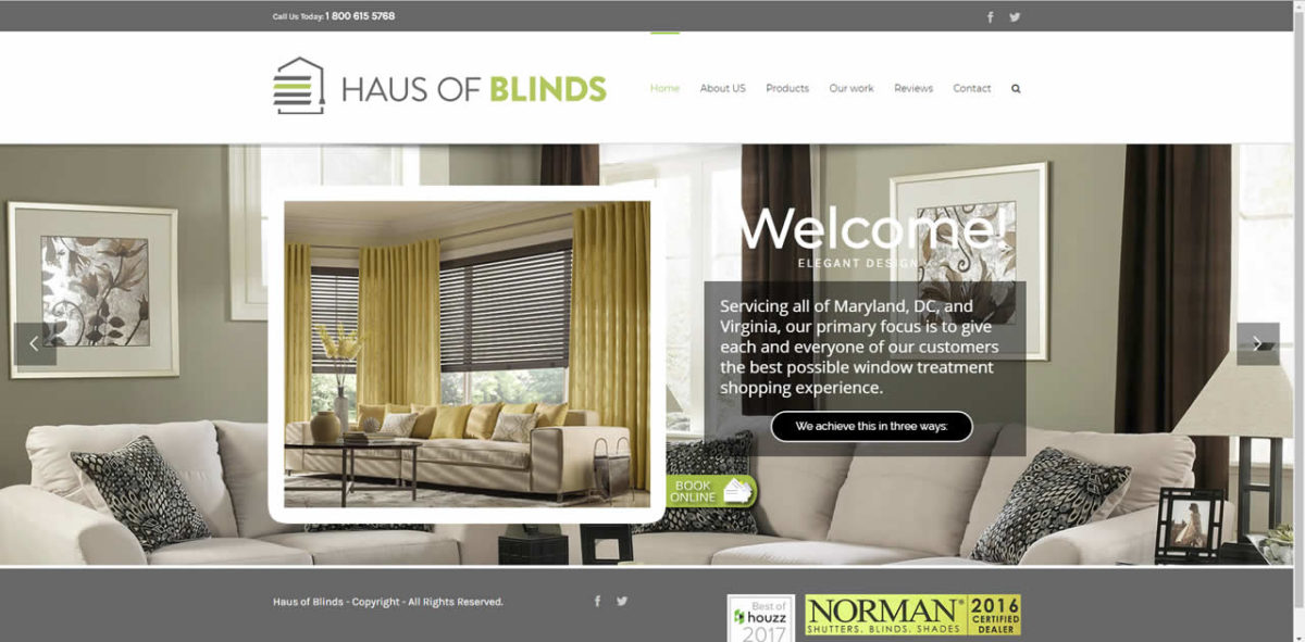 haus of blinds pagina web